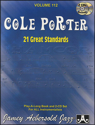 Cole Porter 21 Great Standards Sheet Music Book/2CDs All Instruments Play Along