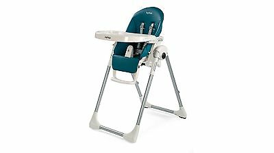Peg Perego Prima Pappa Zero3 Highchair with 7 Height Positions - Petrolio