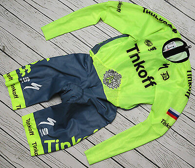 TINKOFF - SPORTFUL - genuine PRO TEAM long sleeve TT SPEED SKIN SUIT - size S
