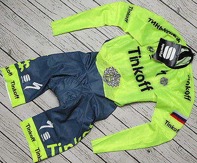 TINKOFF - SPORTFUL - NEW genuine PRO TEAM long sleeve TT SPEED SKIN SUIT size S