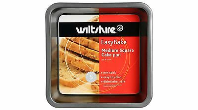 Wiltshire 20cm Square Easybake Cake Pan with Non Stick Coating Long Durability