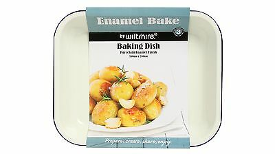 Wiltshire Baking Dish Enamel Bake for Simple & Convenient Cooking - Large 34cm
