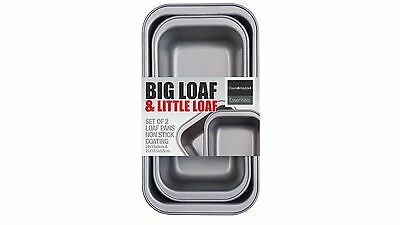 Davis & Waddell Big & Little Loaf Set with High Quality Non Stick Coating