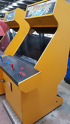 Project Retro Style Arcade Coin Operated Jamma Cabinet No Monitor With Game