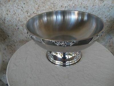 San Marino 5 Gallon Stainless Party Punch Bowl