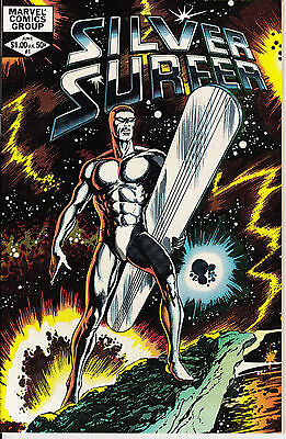 Silver Surfer #1 (1982 Marvel Comic) VERY FINE/NEAR MINT VF/NM 9.0