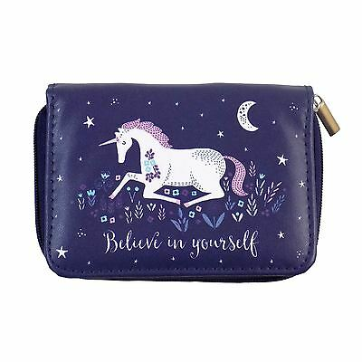 Unicorn Believe In Yourself Cosmetic Brush Set 12Cm X 8.5Cm X 2.5Cm