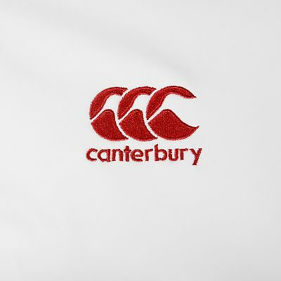 Canterbury Mens Gents England Rugby Anthem Jacket Top - Bright White