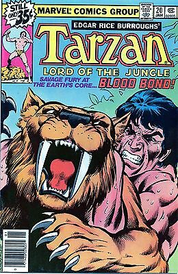 Tarzan Lord of the Jungle 20 vf/nm 1978 Marvel comics