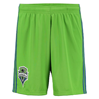 adidas Mens Gents Football Soccer Seattle Sounders Home Shorts Bottoms 2016