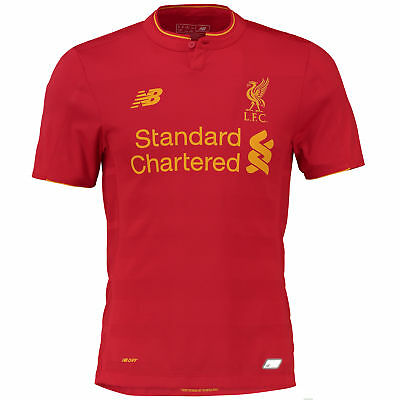 New Balance Mens Gents Football Soccer Liverpool Home Elite Shirt 2016-17