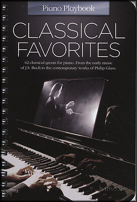 Classical Favorites Piano Playbook Sheet Music Book
