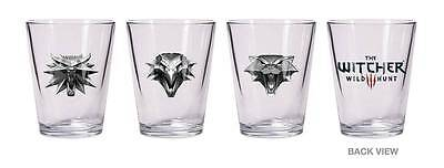 "The Witcher Wild Hunt ""shot Glass Set Of 3"" (Cd Projekt Red)"