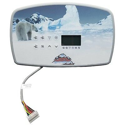 Arctic Spas - TSC-80 Control Panel, 3 Pump - 114200 (With Overlay 114201)