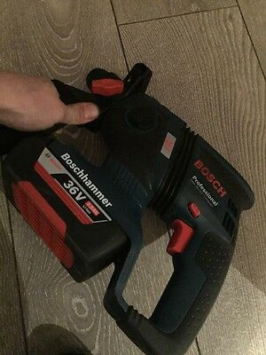 Bosch Professional 36v Cordless SDS Drill GBH 36v-ec Compact