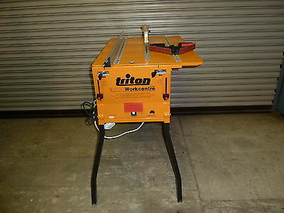 Triton 2000 Workcentre with 235mm Precision Power Saw & Height Winder Kit