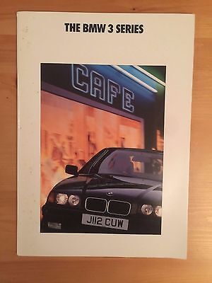 BMW 3 Series brochure 1992 - 50 pages