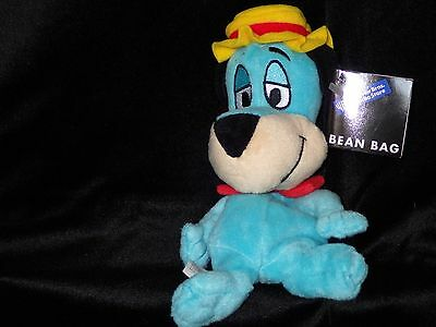 Huckleberry Hound  bean bag plush toy Hanna Barbera Warner Store new with tags