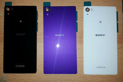 best service 3ec94 2f2fa SONY XPERIA Z2 back cover Glass Original case OEM battery door rear NEW Z 2