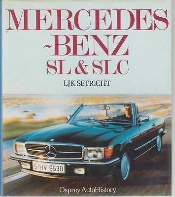 Mercedes-Benz W113 R107 C107 230 250 280 300 350 450 500 Production History Book