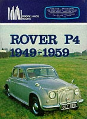 Rover P4 60 75 90 105R & 105S ( 1949 - 1959 ) Period Road Tests Book