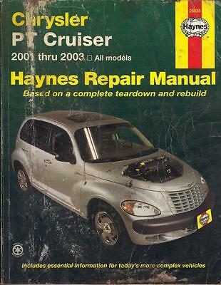 Chrysler Pt Cruiser 2.0,2.4,limited,ltd,classic,touring Haynes Manual 2001-2003