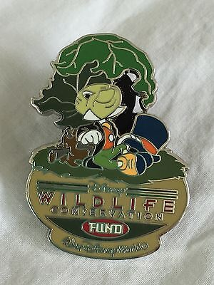 WDW - Disney's Wildlife Conservation Fund - Jiminy Cricket Green Pin