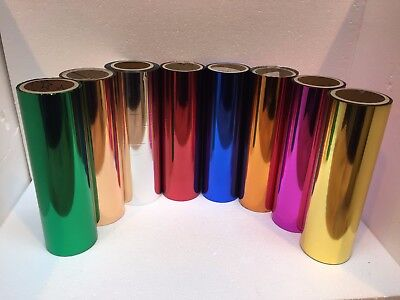 Laminating Stamping Toner Foil 320mm x 100 mtrs Choose A Colour Craft Cards
