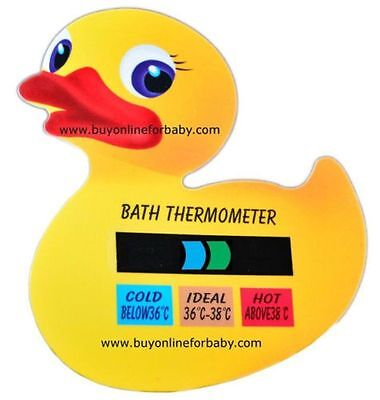 Baby Bath Toddler Safety Water Thermometer Temperature Monitor Duck Uk