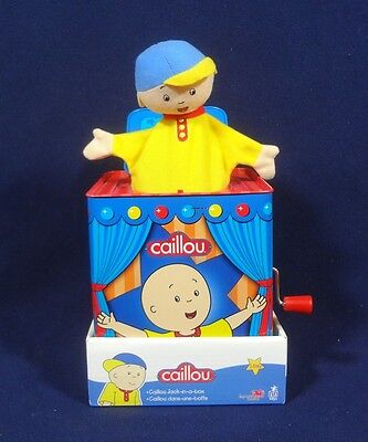 Caillou Jack In The Box Plays Pop Goes The Weasel New