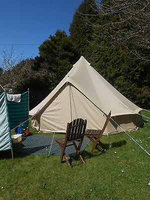 2017 Ultimate 100% Cotton Canvas Bell Tent