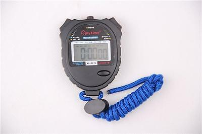 New Digital Handheld Sports Stopwatch Stop Watch Timer Alarm Counter S-N