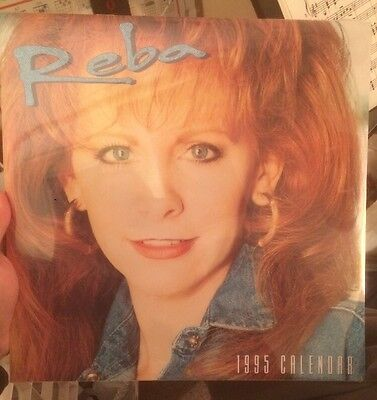 Reba McEntire Vintage 1995 Calendar SEALED New Winterland Productions Country