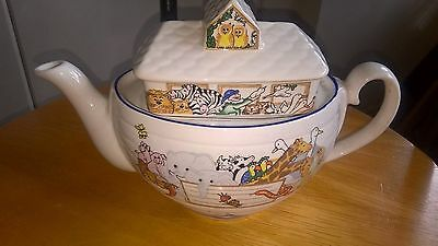 Wade Pottery Teapot Noah's Ark Made exclusively for Boots