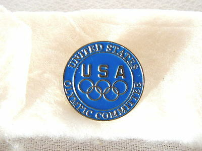 Olympic pin United States Olympic Committee -- year unknown