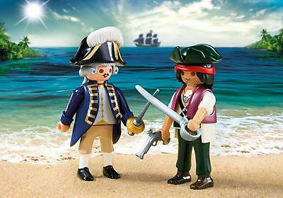 Playmobil #6846 Pirate and Soldier Duo Pack - New Factory Sealed