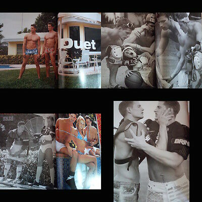 Bruce Weber Portfolio 34 pictorial pages Rugby Boys  L'Uomo VOGUE magazine 2001