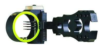 "Black Gold Rush Bow Sight RH Black 4-Pin (.019"" diameter)"