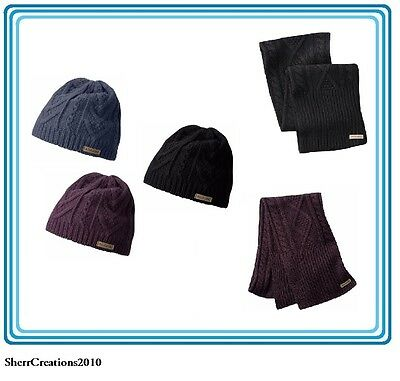NWT COLUMBIA WOMEN'S Winter Accessories Scarf and/or Beanie