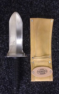 Evolution NT Stainless Steel Digging Trowel Metal detecting With Leather Holster