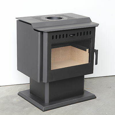 Slow Combustion Radiant Wood Heater Fire Fireplace Indoor
