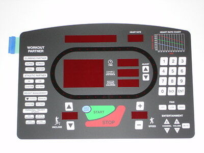 Star Trac 5600 Replacement Overlay/Keypad