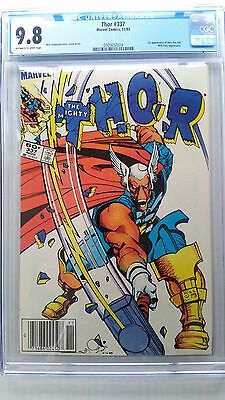 Thor #337 CGC 9.8 NM/M    1st Appearance Beta Ray Bill