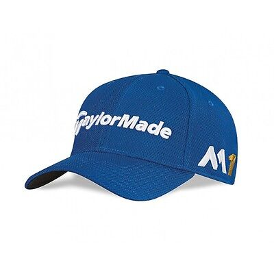TaylorMade New Era 39thirty fitted Cap M1  Golf Cap (Royal)