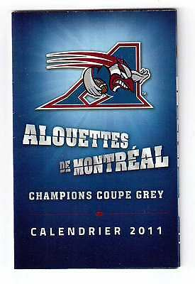 Montreal Alouettes 2011 Official Schedule !!