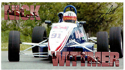 Racing Driver Nick Wittmer Autographed Photo-Card !! 2