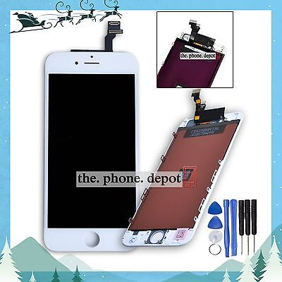 For iPhone 6 LCD Digitizer Touch Screen Display Lens Assembly Replacement White