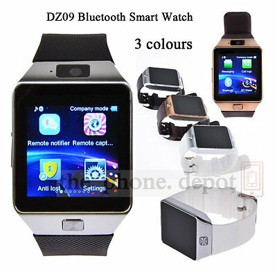 Bluetooth DZ09 Smart Watch For HTC Samsung Nexus Android Phone With Camera SIM