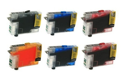 refillable ink cartridge T078 for Epson R260/R280/R380/RX580/RX595/RX680 printer