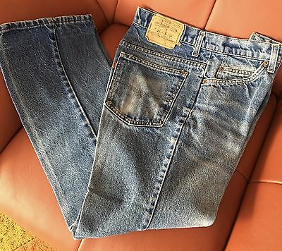 Vintage Levi Strauss Bell Bottom Jeans Orange Tab 31x30 actual 30x29.5 Boot Cut